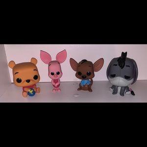 "POP!Funko ""Winnie the Pooh"" 4 SET FIGURINE BUNDLE"